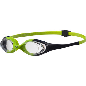 arena Spider Goggles Kids navy-clear-citronella